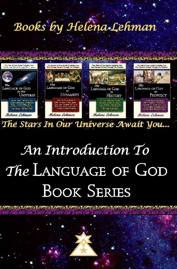 Cover for the 'Introduction to the Language of God Book Series' by Helena Lehman